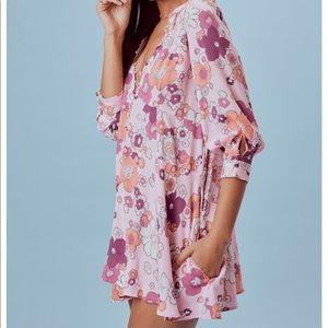 35cd0dd62a4d For Love And Lemons Dresses - For Love & Lemons Magnolia Trapeze Mini Dress